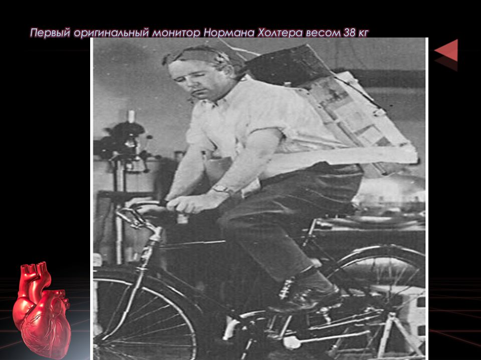 Первый оригинальный монитор Нормана Холтера весом 38 кг