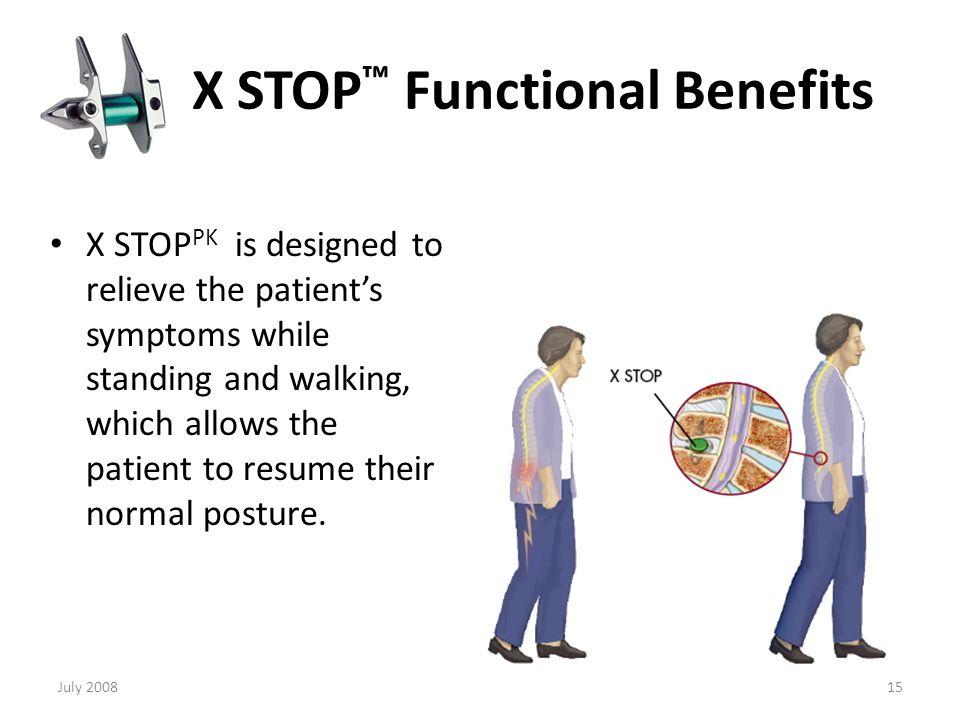 X STOP™ Decompresses