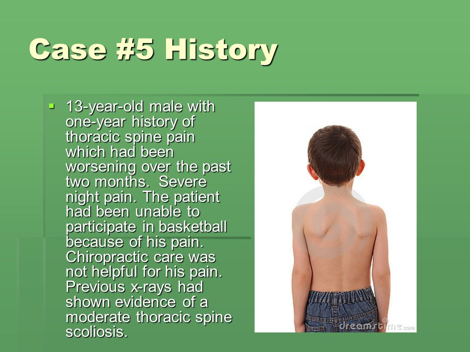 Case #5 History