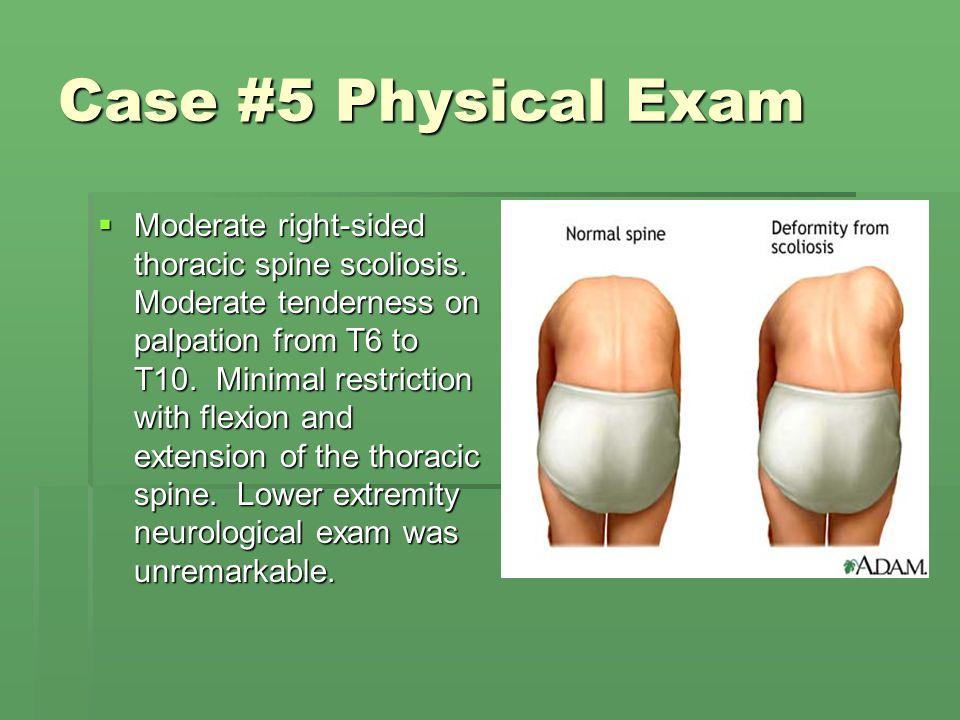 Case #5 Physical Exam