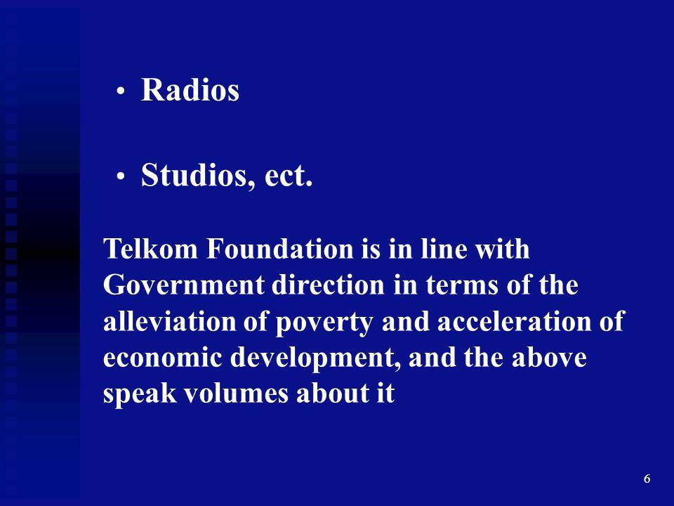 Radios Studios, ect.