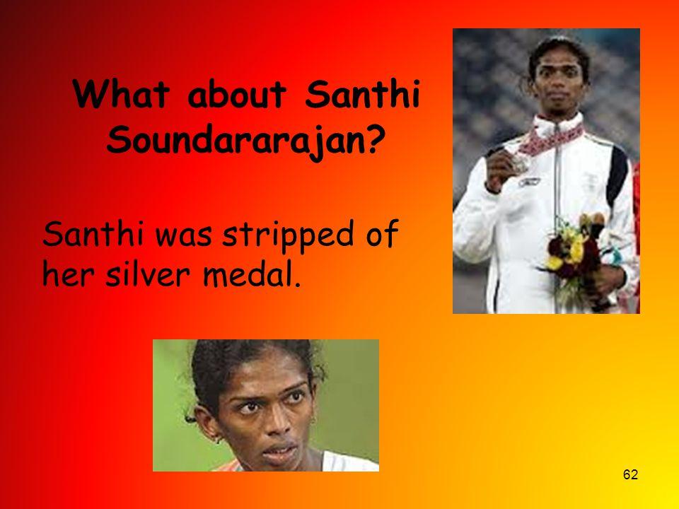 What about Santhi Soundararajan