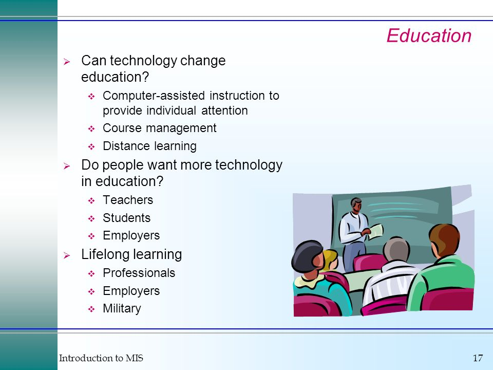 Education Can technology change education