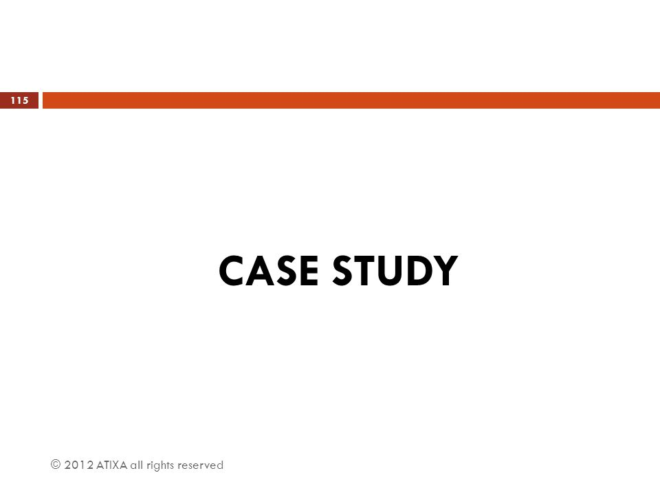 CASE STUDY © 2012 ATIXA all rights reserved