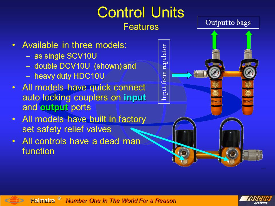 Control Units Features