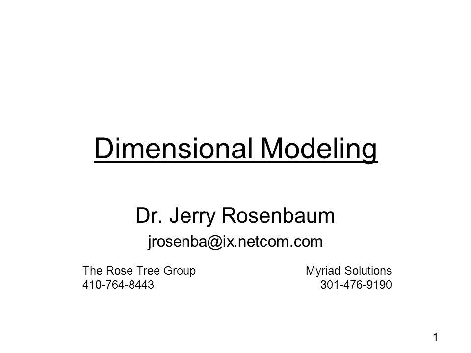 Dr. Jerry Rosenbaum jrosenba@ix.netcom.com