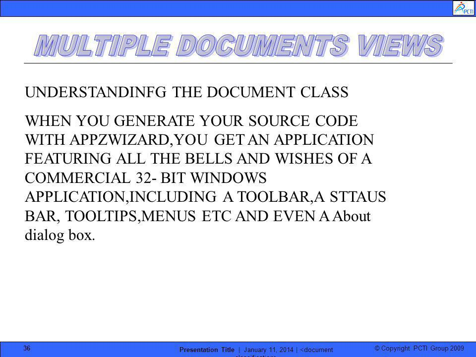 MULTIPLE DOCUMENTS VIEWS