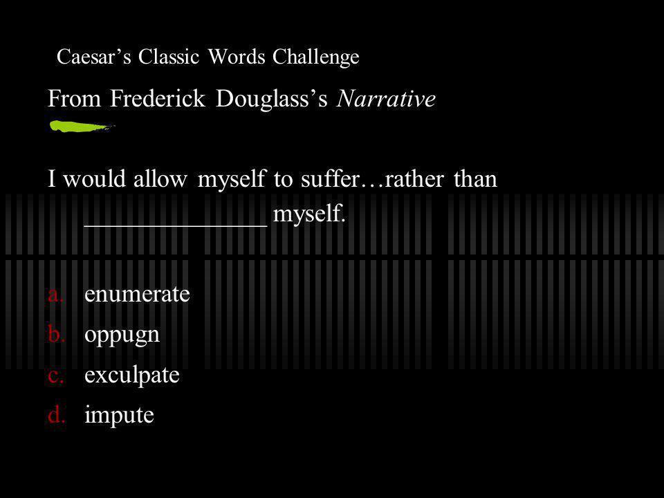 Caesar's Classic Words Challenge