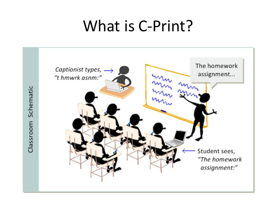 What is C-Print
