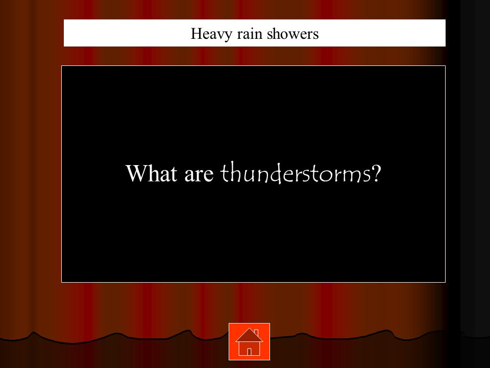 What are thunderstorms