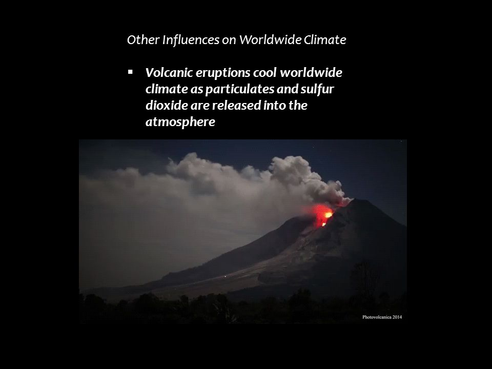 Other Influences on Worldwide Climate