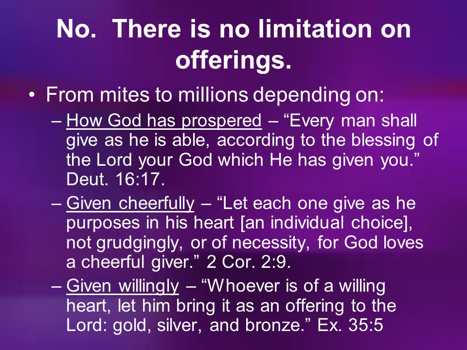 No. There is no limitation on offerings.