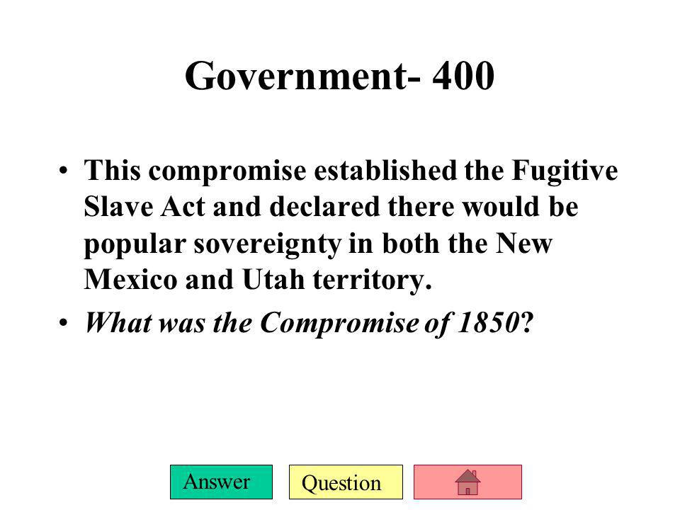 Government- 400