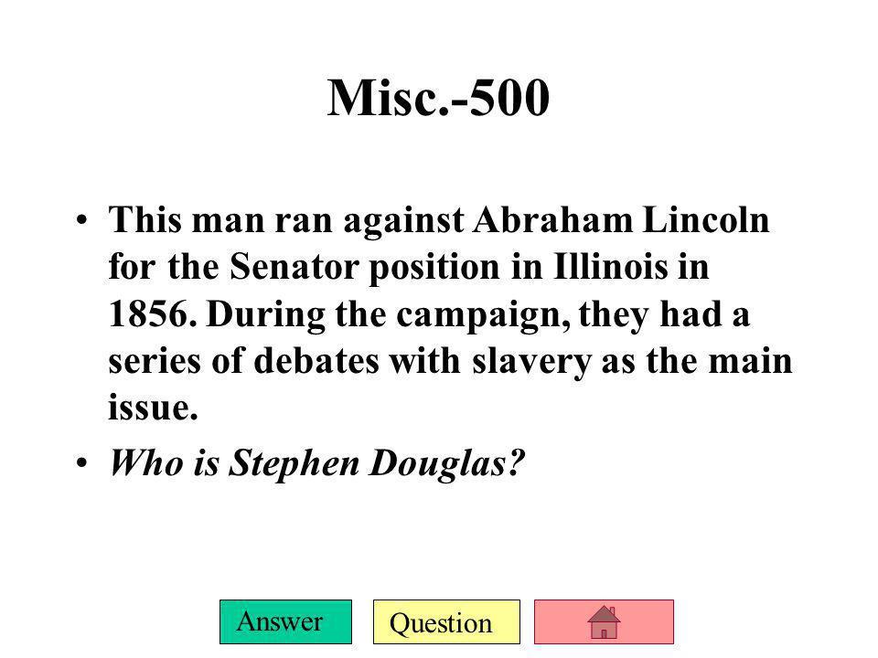 Misc.-500