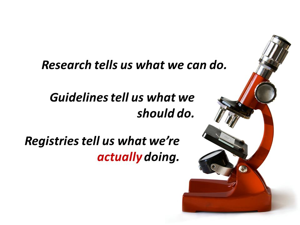 Research tells us what we can do.