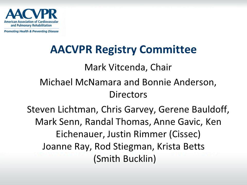 AACVPR Registry Committee