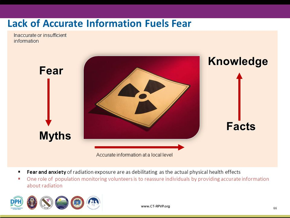 Lack of Accurate Information Fuels Fear