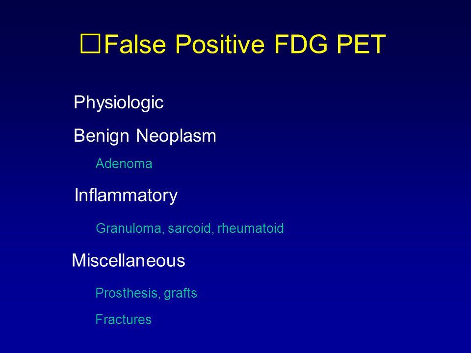 False Positive FDG PET