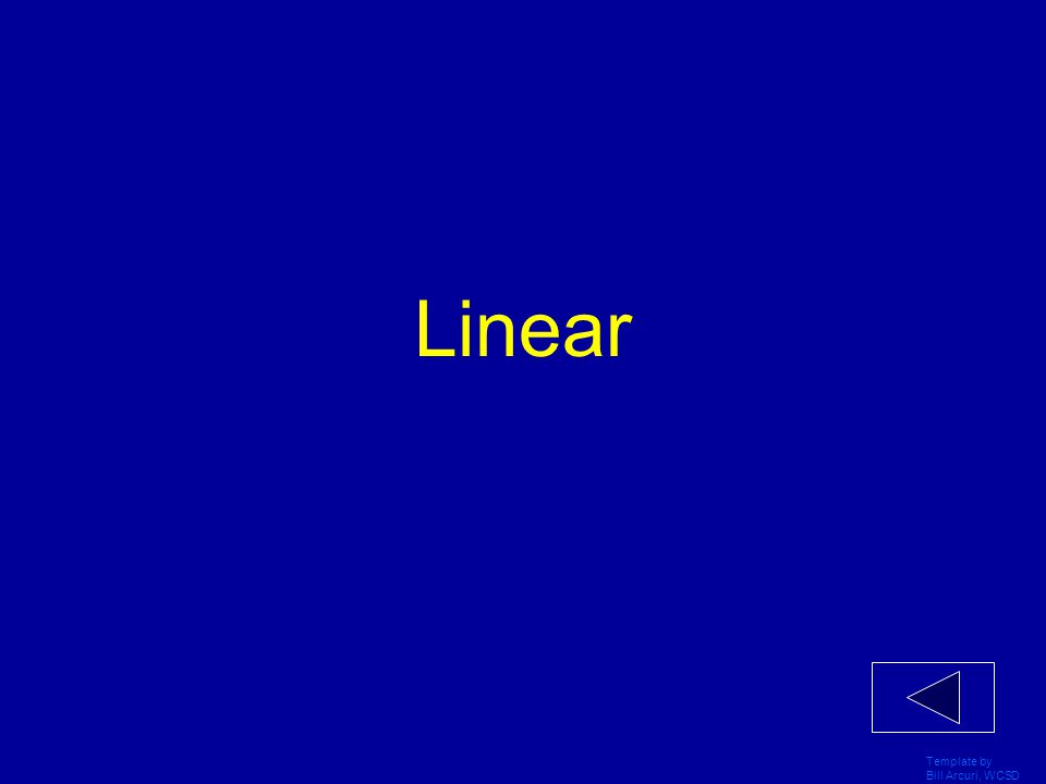 Linear Template by Bill Arcuri, WCSD