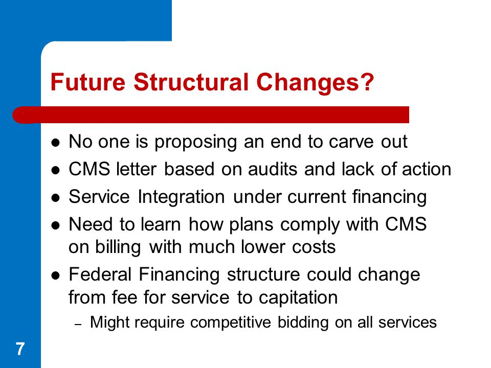 Future Structural Changes