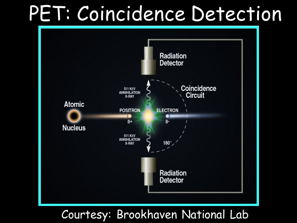 PET: Coincidence Detection
