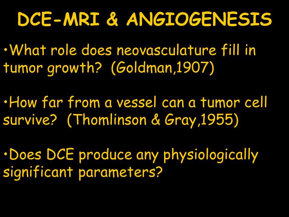 DCE-MRI & ANGIOGENESIS
