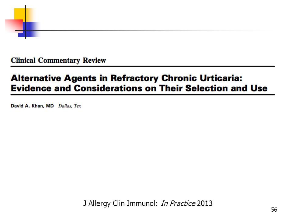 J Allergy Clin Immunol: In Practice 2013