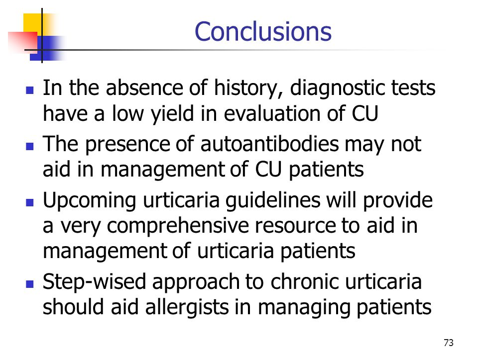 Conclusions In the absence of history, diagnostic tests have a low yield in evaluation of CU.