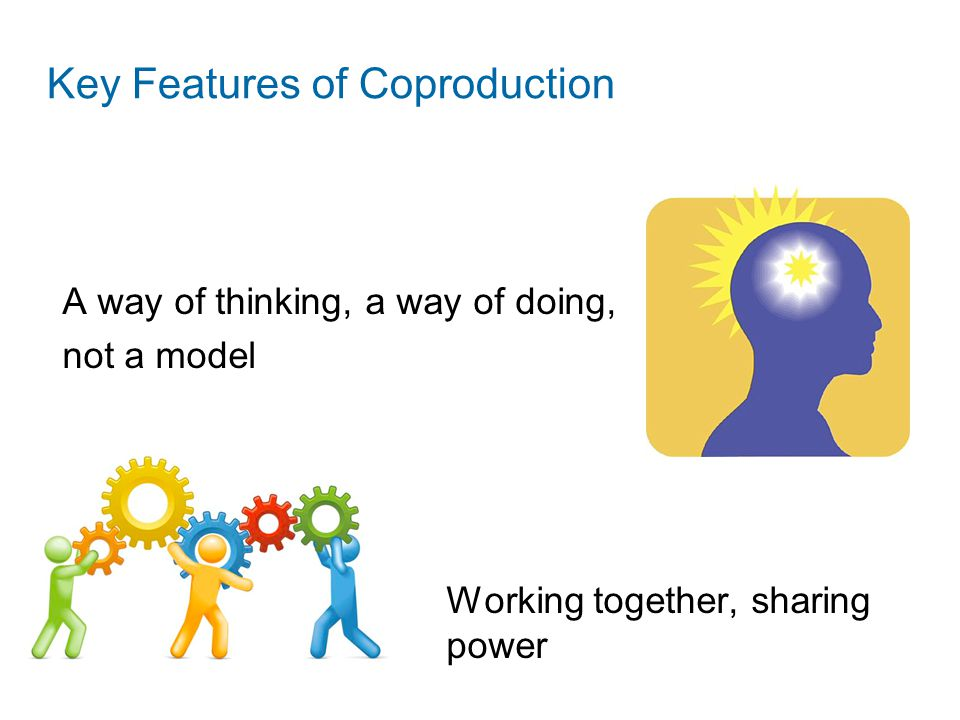 Key Features of Coproduction