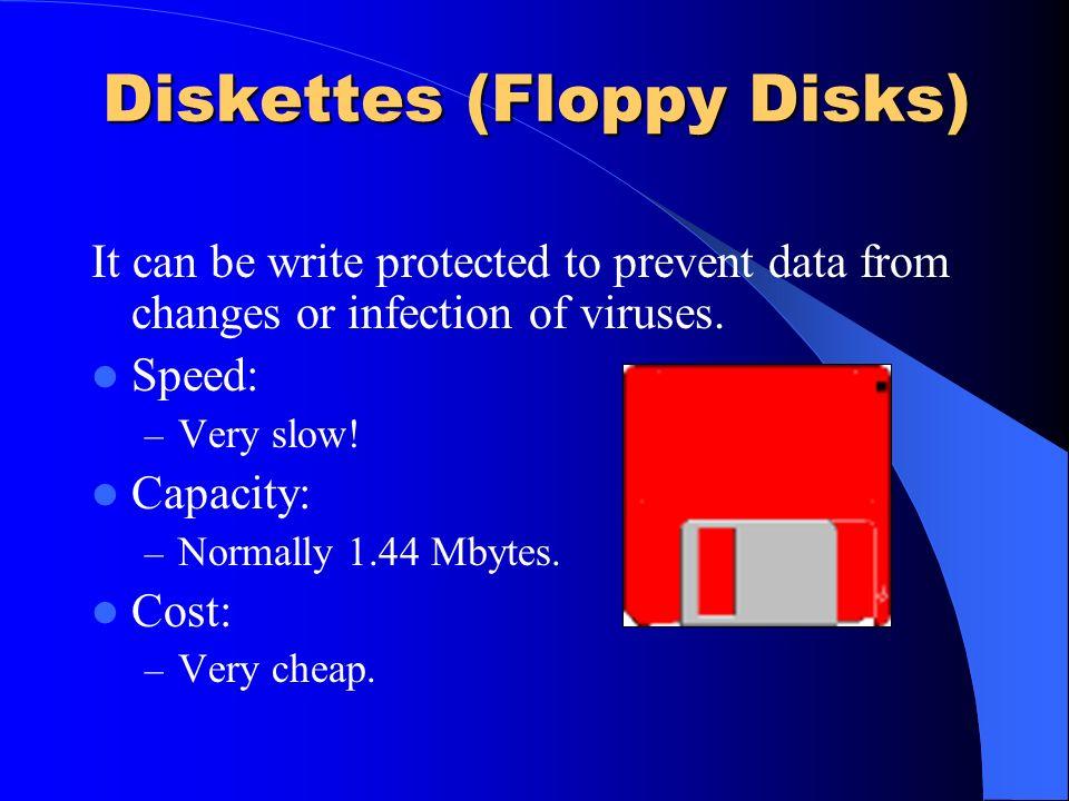 Diskettes (Floppy Disks)