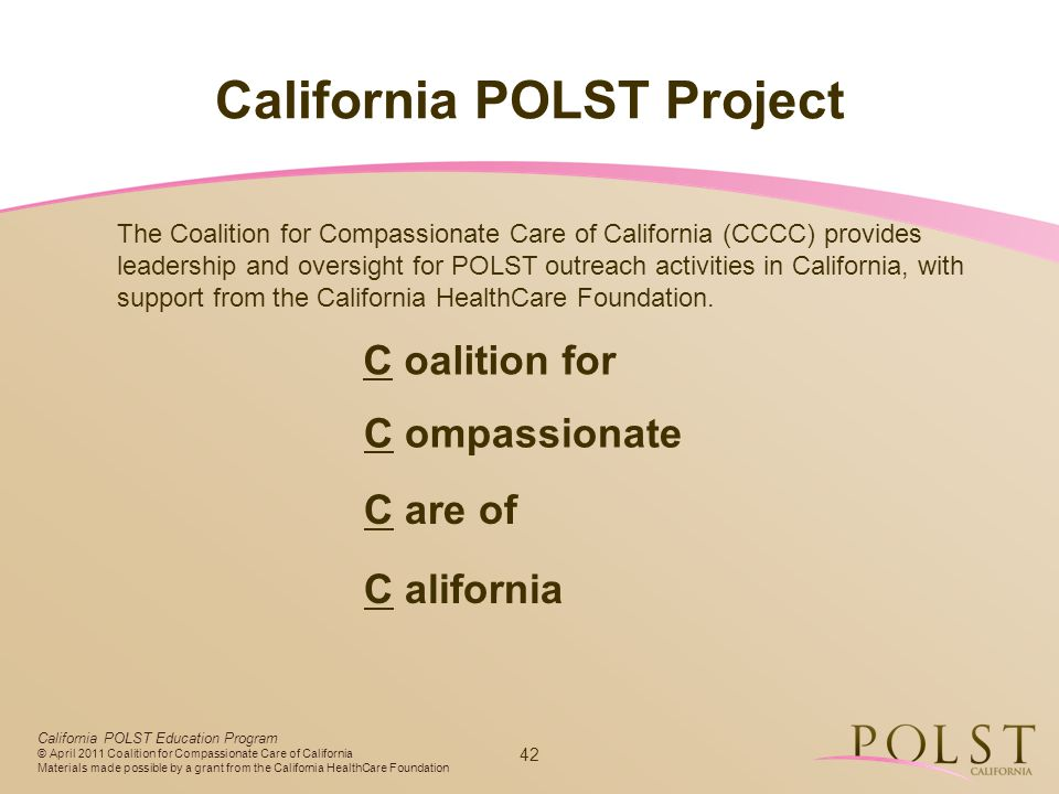 California POLST Project