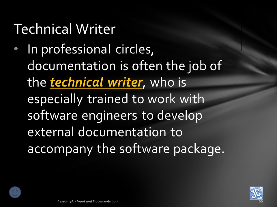 Technical Writer