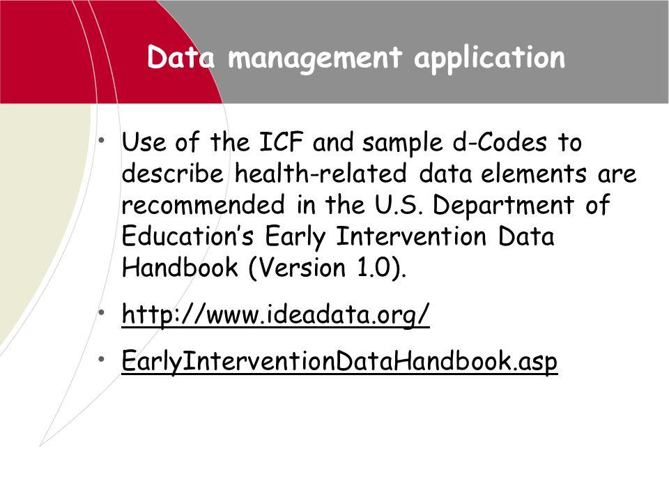 Data management application