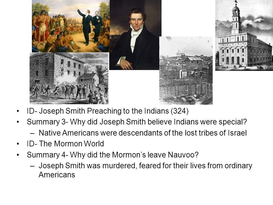 ID- Joseph Smith Preaching to the Indians (324)