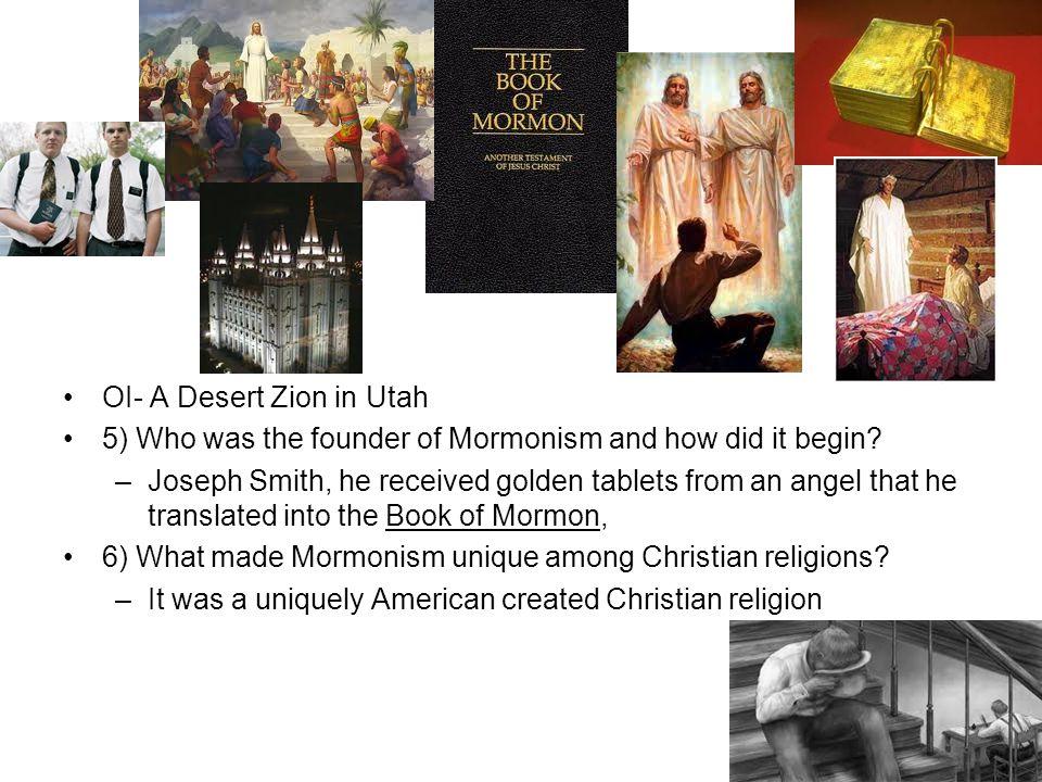 OI- A Desert Zion in Utah