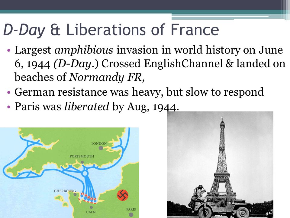 D-Day & Liberations of France