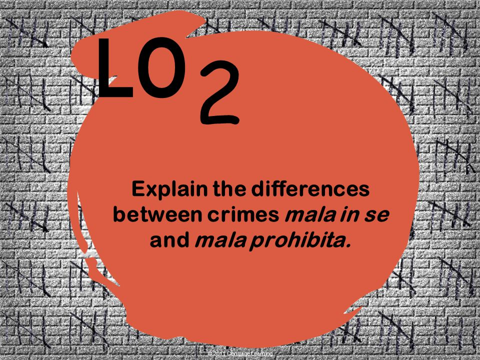 Explain the differences between crimes mala in se and mala prohibita.