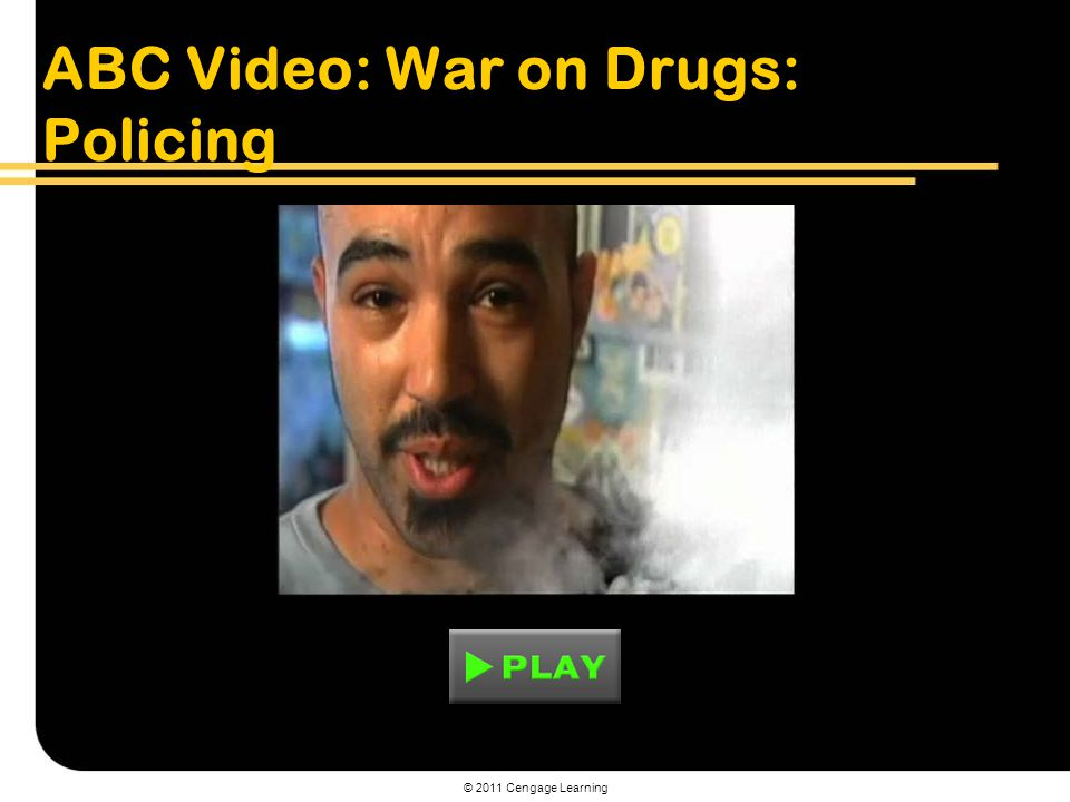 ABC Video: War on Drugs: Policing