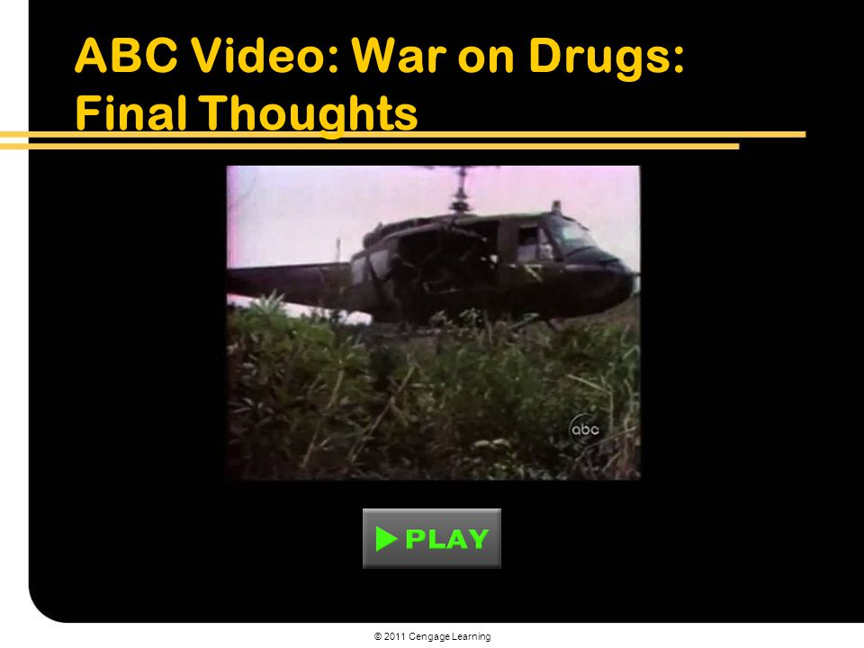 ABC Video: War on Drugs: Final Thoughts