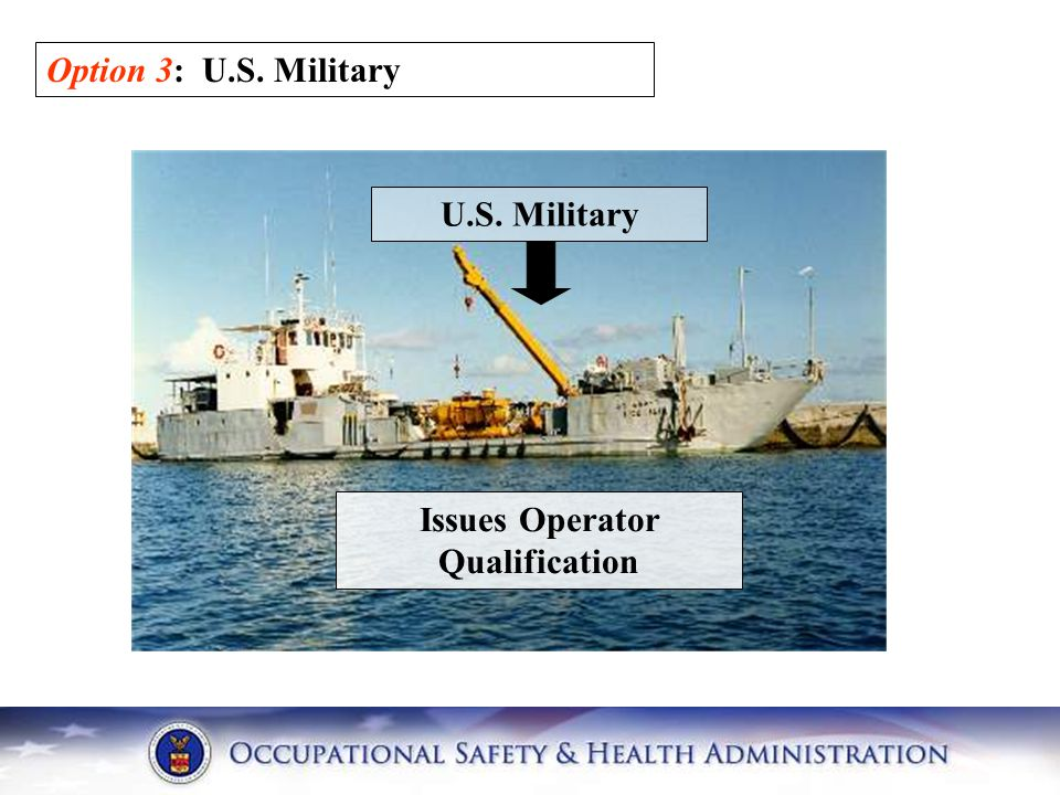 Issues Operator Qualification