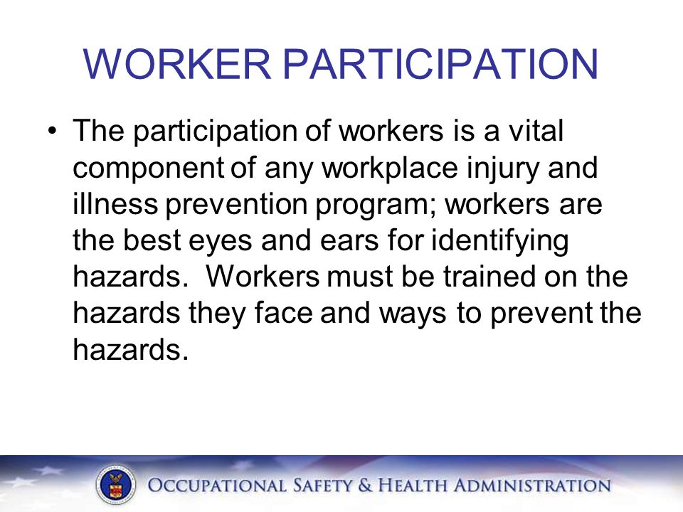 WORKER PARTICIPATION
