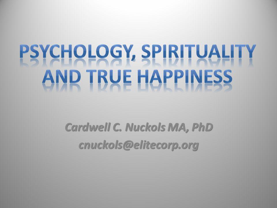 Cardwell C. Nuckols MA, PhD cnuckols@elitecorp.org