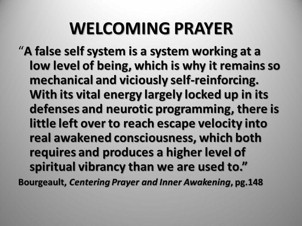 WELCOMING PRAYER