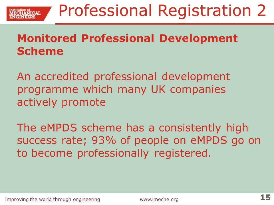 Professional Registration 2