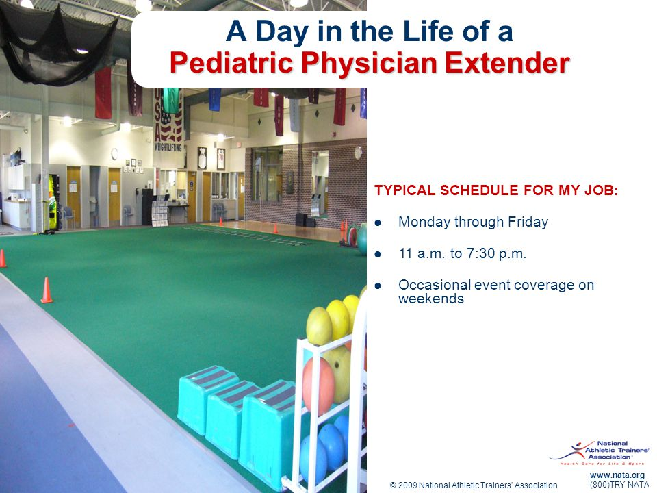 A Day in the Life of a Pediatric Physician Extender