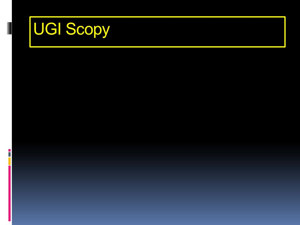 UGI Scopy