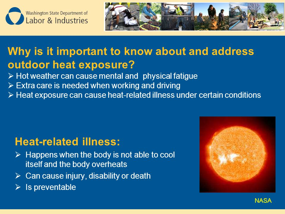 Why is it important to know about and address outdoor heat exposure
