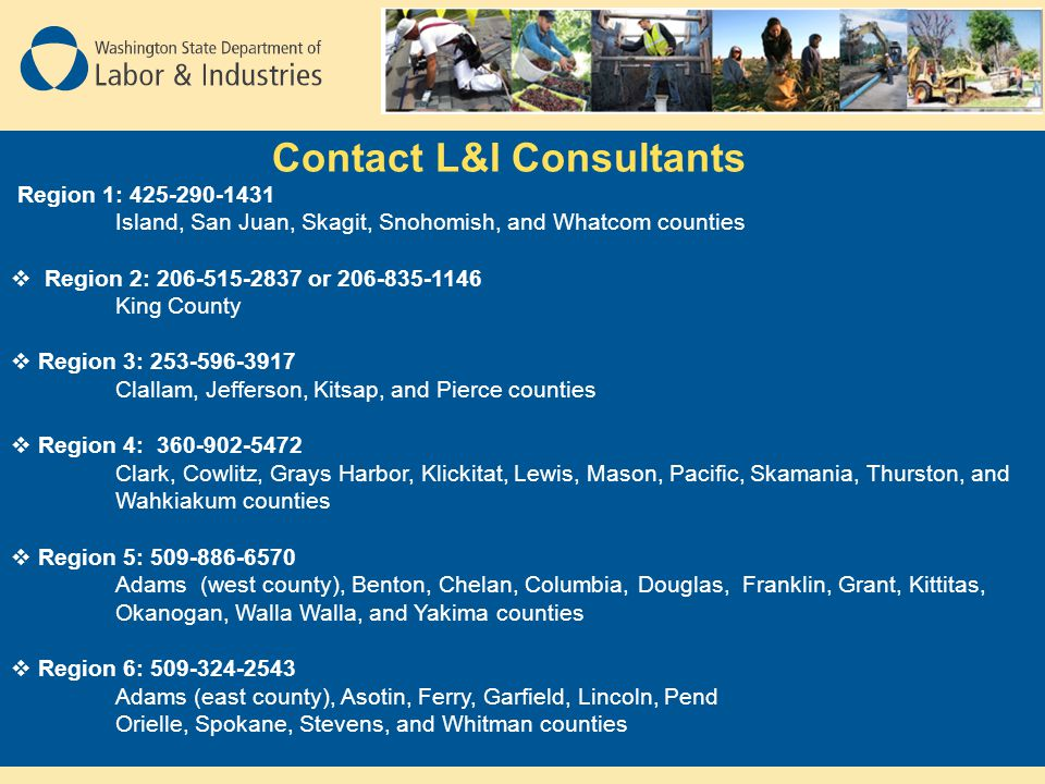 Contact L&I Consultants