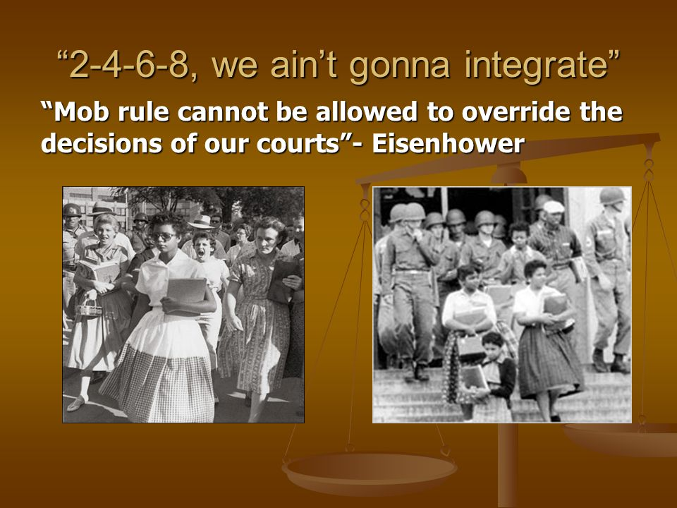 2-4-6-8, we ain't gonna integrate