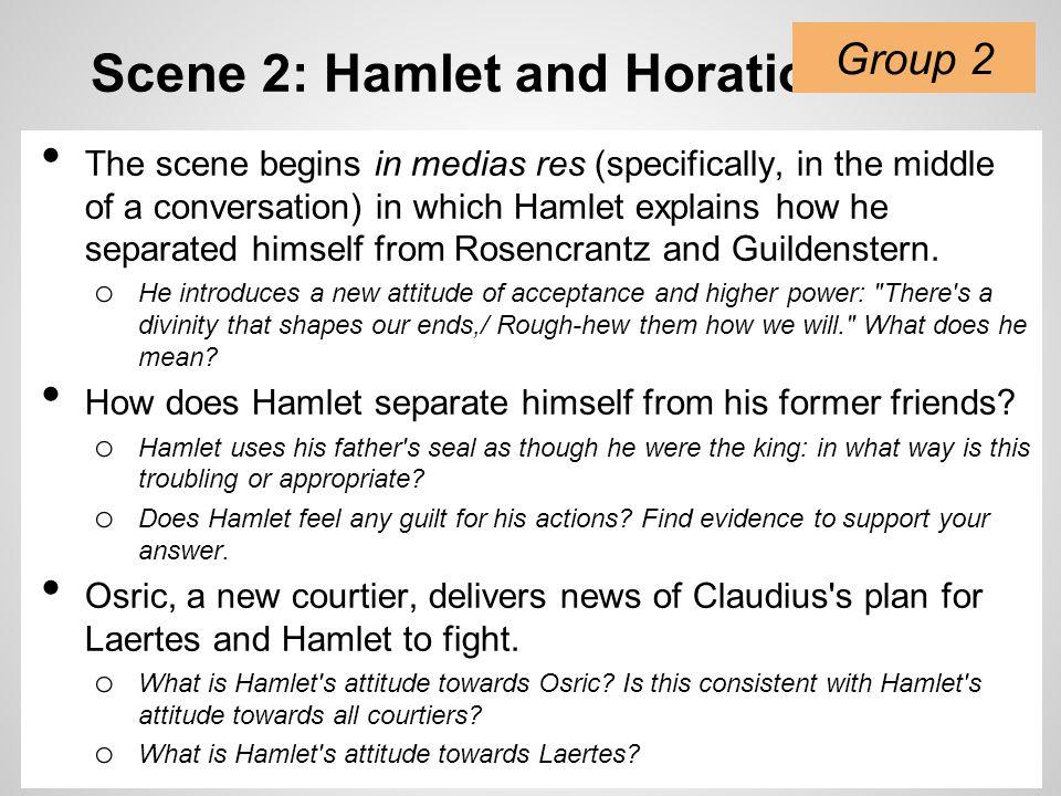 Scene 2: Hamlet and Horatio